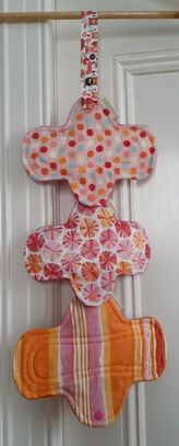 Drying cloth pads